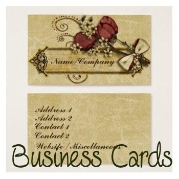 customizable business cards